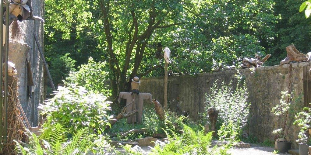 Alchemie- und Hexengarten; Foto: Staatliche Schlösser und Gärten Baden-Württemberg, Monika Menth