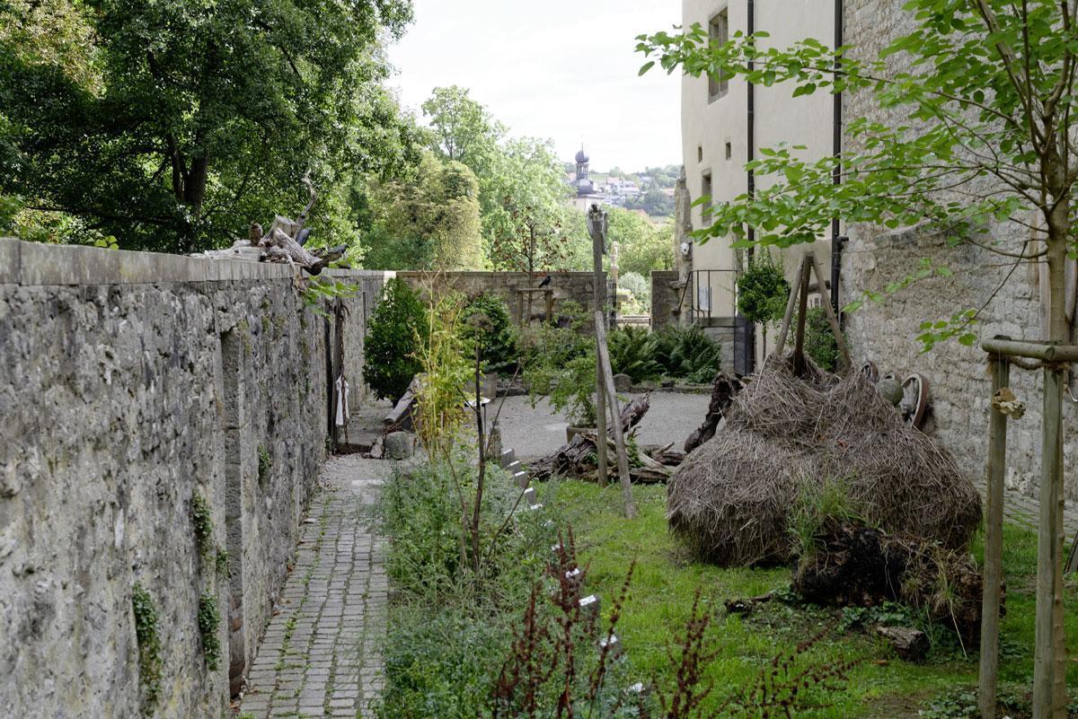 Der Alchemie- und Hexengarten von Schloss Weikersheim; Foto: Staatliche Schlösser und Gärten Baden-Württemberg, Niels Schubert