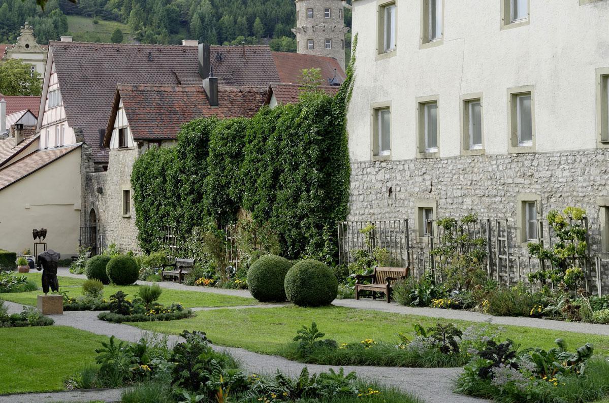 Küchengarten von Schloss Weikersheim; Foto: Staatliche Schlösser und Gärten Baden-Württemberg, Niels Schubert