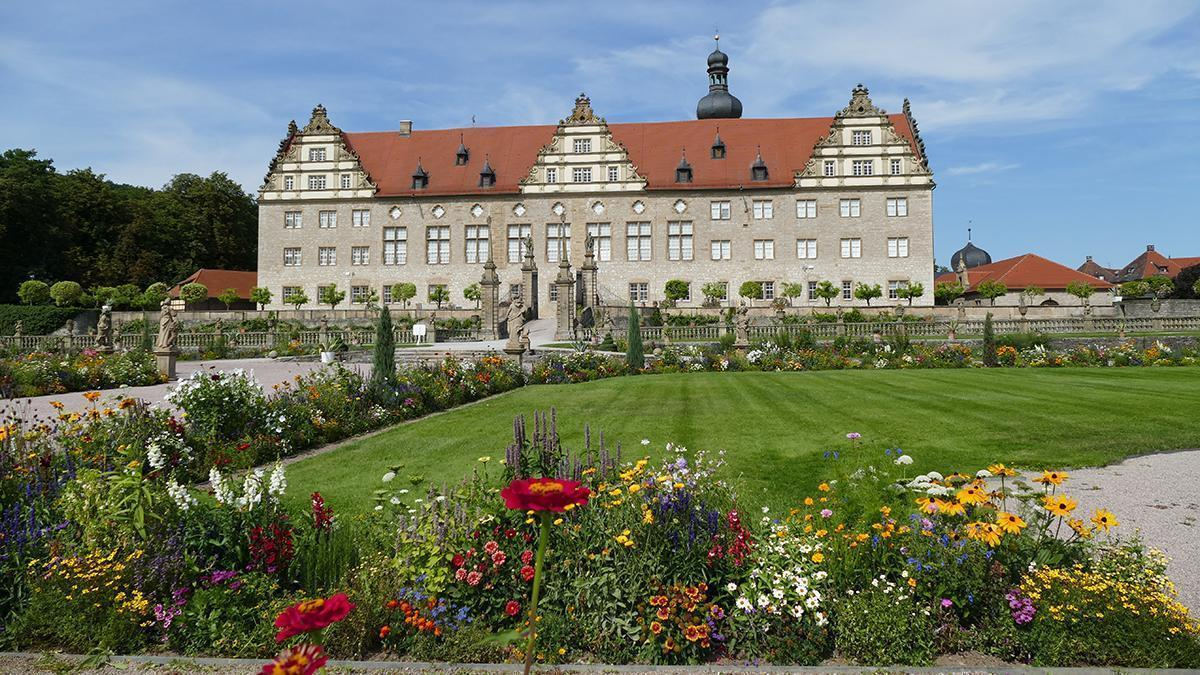 Rabatte im Weikersheimer Schlossgarten am 19. August 2016;Foto: Staatliche Schlösser und Gärten Baden-Württemberg, Sonja Wünsch