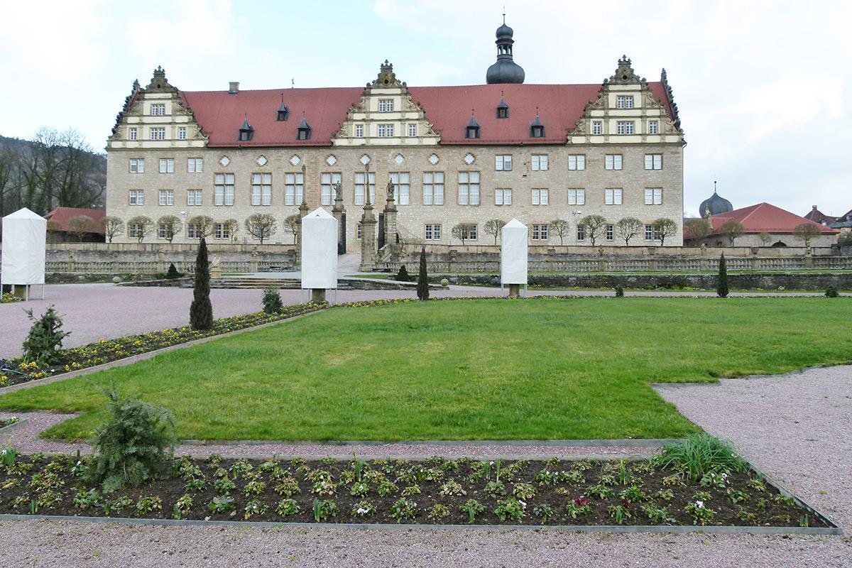 Eine Rabatte im Weikersheimer Schlossgarten am 4. März 2016; Foto: Staatliche Schlösser und Gärten Baden-Württemberg, Sonja Wünsch
