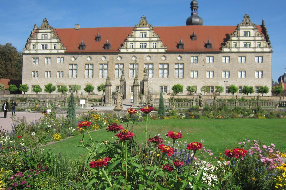 Rabatte im Weikersheimer Schlossgarten am 16. September 2016; Foto: Staatliche Schlösser und Gärten Baden-Württemberg, Monika Menth