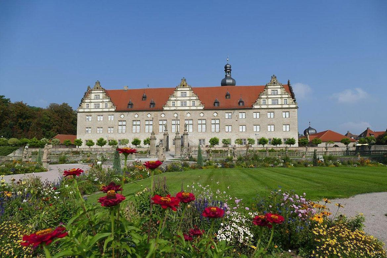 Rabatte im Weikersheimer Schlossgarten am 23. September 2016; Foto: Staatliche Schlösser und Gärten Baden-Württemberg, Sonja Wünsch