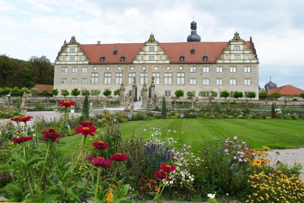 Rabatte im Weikersheimer Schlossgarten am 30. September 2016; Foto: Staatliche Schlösser und Gärten Baden-Württemberg, Sonja Wünsch