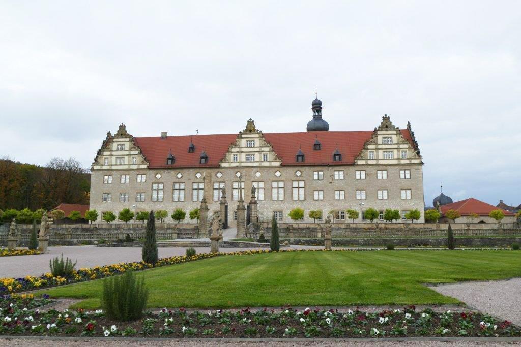 Rabatte im Weikersheimer Schlossgarten am 4. November 2016; Foto: Staatliche Schlösser und Gärten Baden-Württemberg, Sonja Wünsch