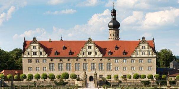 Außenansicht von Schloss Weikersheim; Foto: Staatliche Schlösser und Gärten Baden-Württemberg, Christoph Hermann