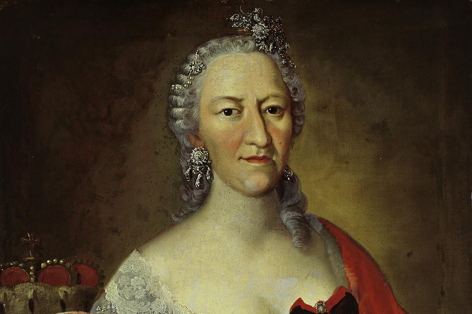 Portrait der Gräfin Elisabeth Friederike Sophie; Foto: Staatliche Schlösser und Gärten Baden-Württemberg, Andrea Rachele