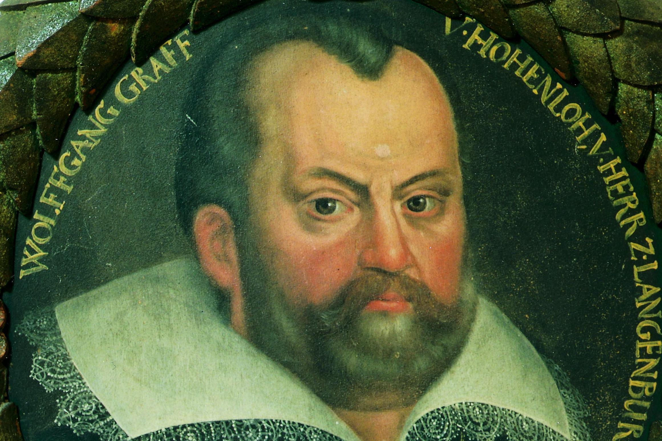 Portrait des Grafen Wolfgang von Hohenlohe