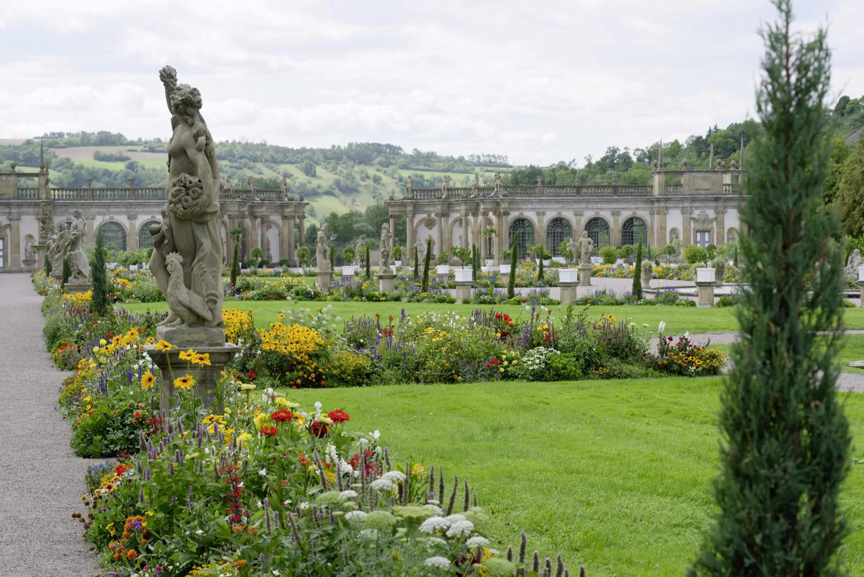Weikersheim Garden; Photo: Staatliche Schlösser und Gärten Baden-Württemberg, Niels Schubert