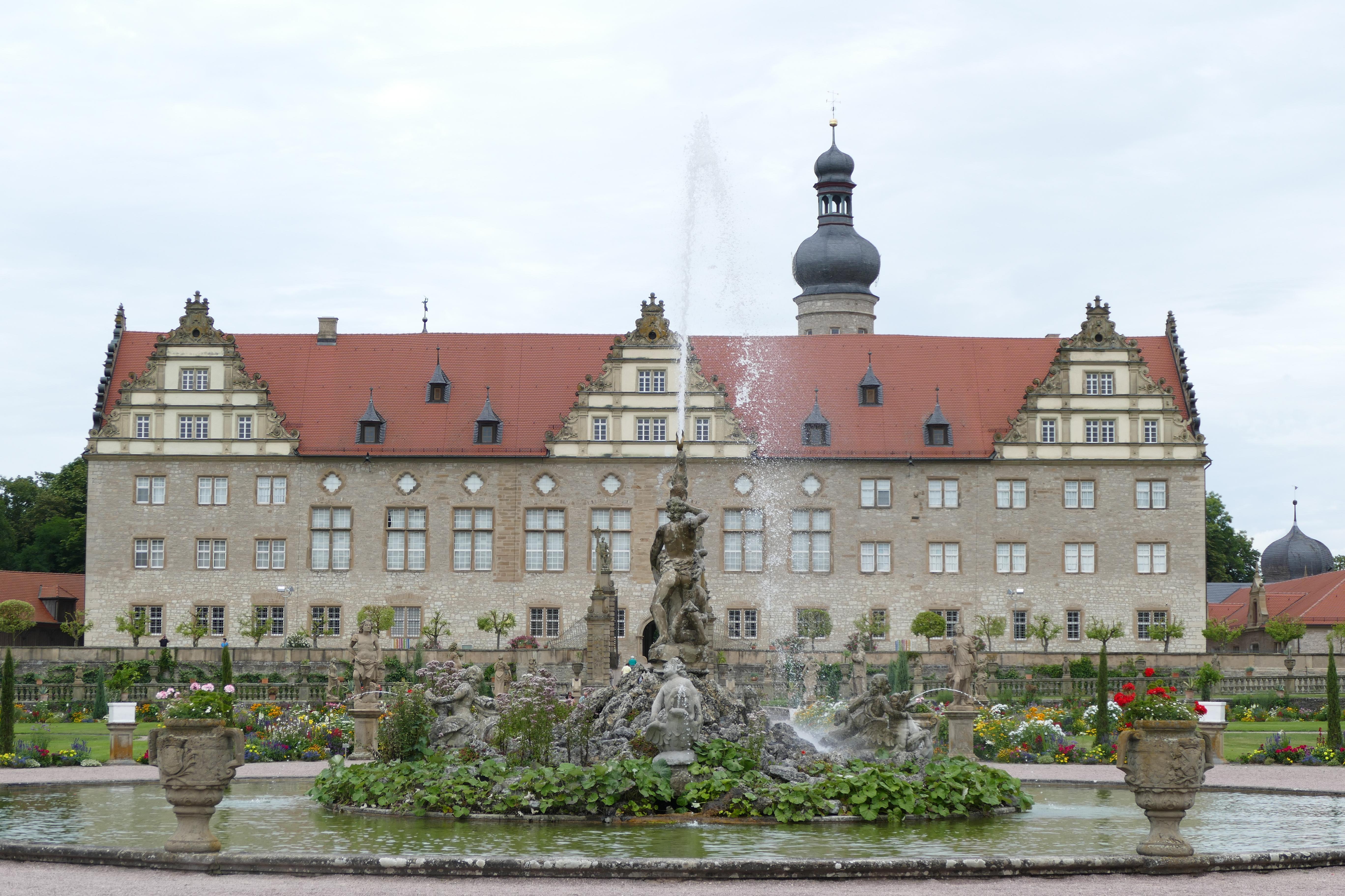 Herkulesbrunnen, Schloss Weikersheim; Foto: Staatliche Schlösser und Gärten Baden-Württemberg, Sonja Wünsch