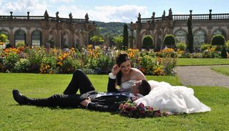 Schloss Weikersheim, Hochzeit von Alexandra und Christopher Menth; Foto: Irina Sander