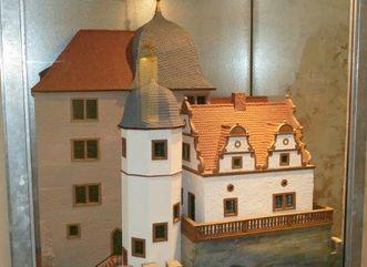 Modell des Alchemielabors des Grafen Wolfgang II. von Hohenlohe; Foto: Staatliche Schlösser und Gärten Baden-Württemberg, Sonja Wünsch