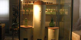 Ausstellungsstücke in der Alchemie-Ausstellung in Weikersheim