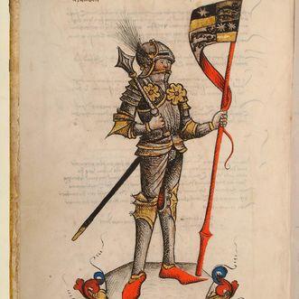 Graf Albrecht von Hohenlohe und Ziegenhain, 1490, Hohenlohe-Zentralarchiv