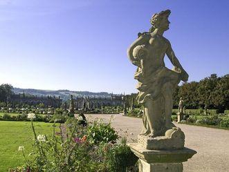 Personifikation des Wasser, Statue, Schloss Weikersheim
