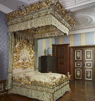 Prunkbett der Fürstin, Schloss Weikersheim