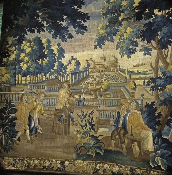 Weikersheim Palace and Gardens, Tapestry in the antechamber