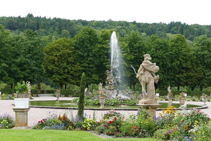 Weikersheim Palace and Gardens, Fountain of Hercules