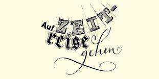 """Motiv der Staatlichen Schlösser und Gärten Baden-Württemberg zur """"Zeitreise"""""""
