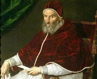 Gemälde von Papst Gregor XIII