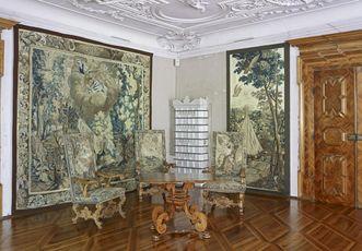 Audienzzimmer der Gräfin, Schloss Weikersheim; Foto: Staatliche Schlösser und Gärten Baden-Württemberg, Arnim Weischer