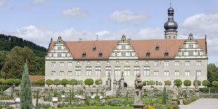 Außenansicht von Schloss Weikersheim