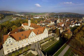 Schloss Weikersheim, Luftaufnahme