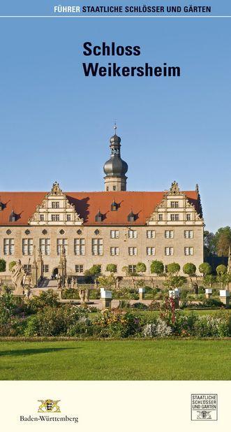 """Deckblatt des Führers """"Schloss Weikersheim"""""""