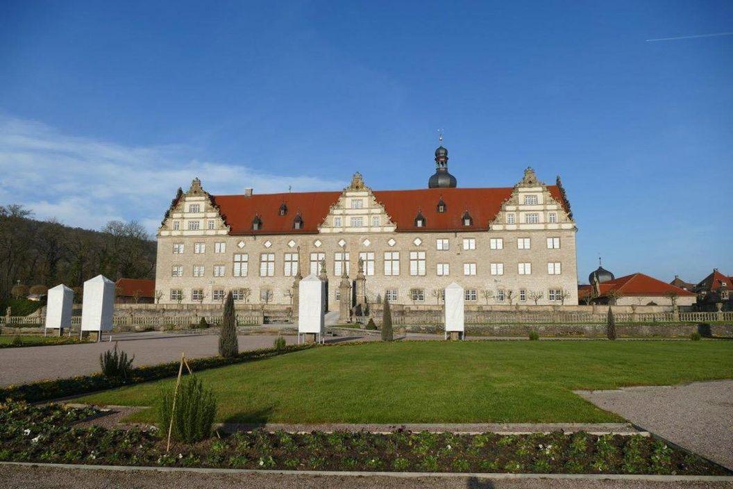 Rabatte im Weikersheimer Schlossgarten am 30. Dezember 2016