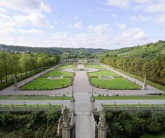 Schloss und Schlossgarten Weikersheim, Blick zur Orangerie