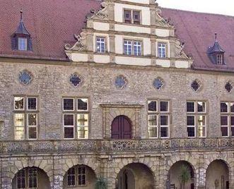 Der Rittersaal von außen; Foto: Staatliche Schlösser und Gärten Baden-Württemberg, Arnim Weischer