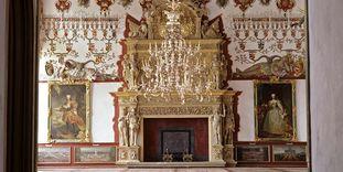 Prunkkamin im Rittersaal, Schloss Weikersheim