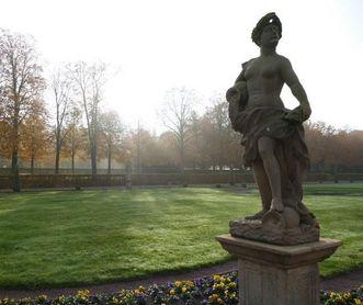 Schloss und Schlossgarten Weikersheim, Garten im Herbst