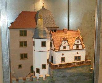 Modell des Alchemielabors von Graf Wolfgang; Foto: Staatliche Schlösser und Gärten Baden-Württemberg, Sonja Wünsch