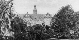 Schloss und Schlossgarten Weikersheim, Historische Ansicht