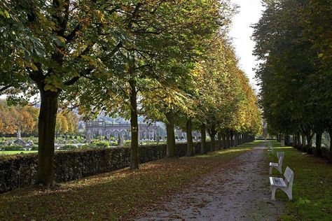 Weikersheim Palace and Gardens, Chestnut-lined avenue