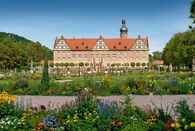 Weikersheim Palace, view of the palace from the gardens; Photo: Staatliche Schlösser und Gärten Baden-Württemberg, unknown