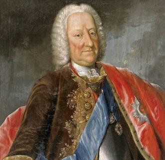 Bildnis des Carl Ludwig Graf von Hohenlohe, Pastell von J.G. Günther, 1753; Foto: Staatliche Schlösser und Gärten Baden-Württemberg, Arnim Weischer